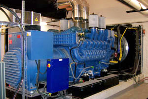 2H ENERGY genset for applications in industry
